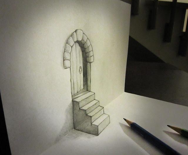 ilusi gambar tiga dimensi yang keren dan menakjubkan serta kreatif-20