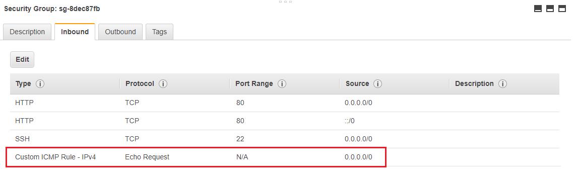 How to Setup EC2 Instance for Ping Response ~ ServerKaKa