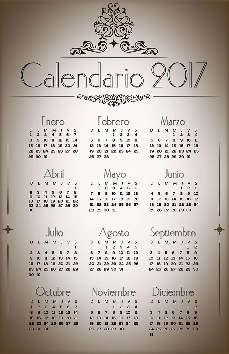 calendario 2018 que inicie en domingo calendrier