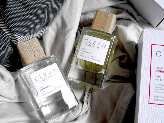 Clean Reserve Amber Saffron and Smoked Vetiver