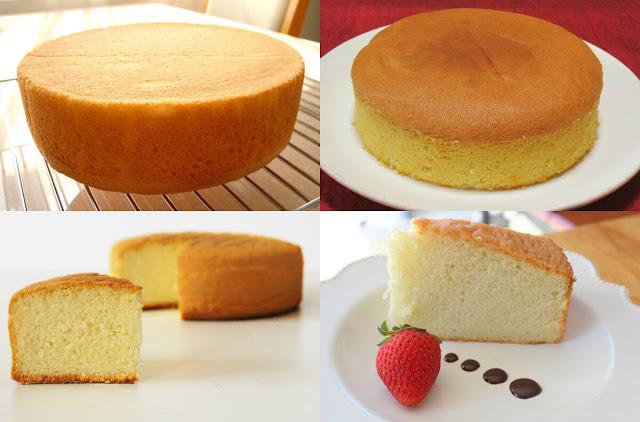 طريقة سهلة وسريعة لعمل الكيكة الإسفنجية مع موقع عالم الطبخ والجمال في المنزل!
