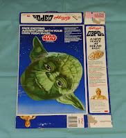 Kellogg's C-3PO's Cereal Box Yoda Mask