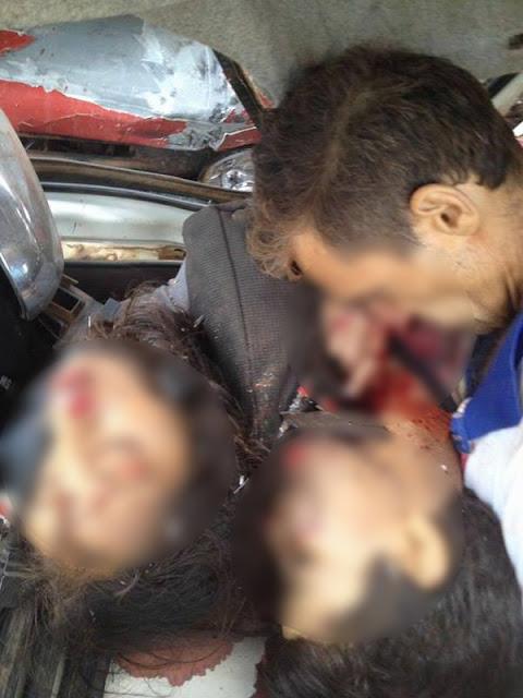 Acidente violento mata 7 pessoas da mesma família na BR 174 em Juína, MT