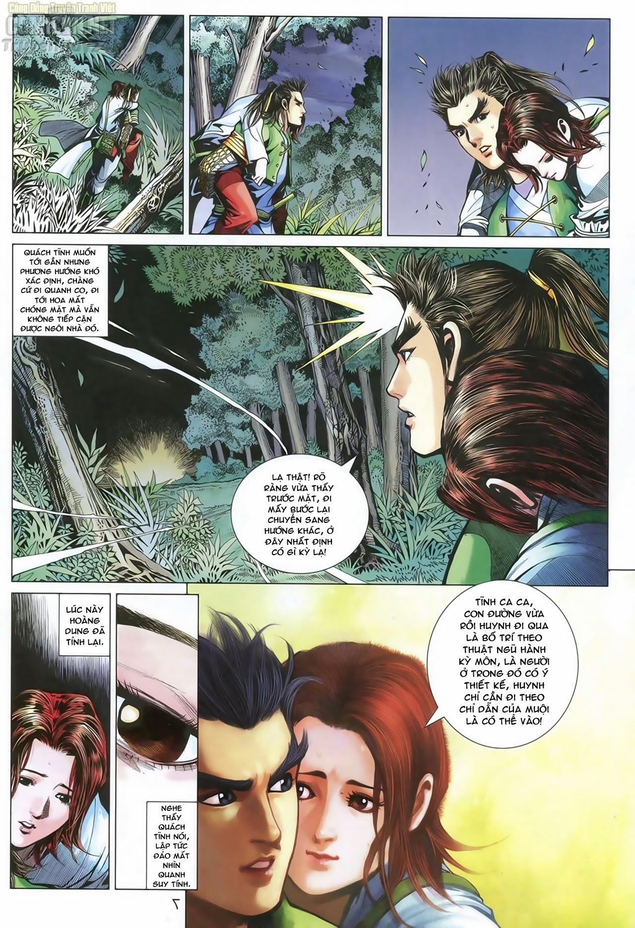 Anh Hùng Xạ Điêu anh hùng xạ đêu chap 70: hắc chiểu ẩn nữ trang 8