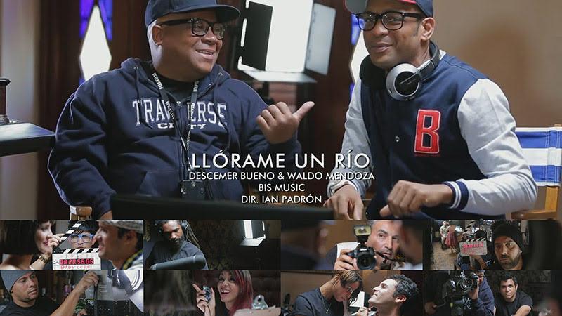 Descemer Bueno & Waldo Mendoza - ¨Llórame un río¨ - Videoclip - Director: Ian Padrón. Portal Del Vídeo Clip Cubano
