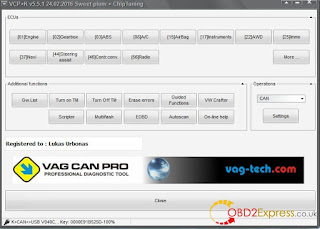 VAG CAN + K PRO interface 1