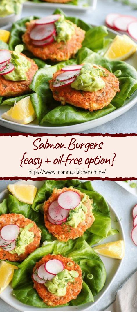 Salmon Burgers #healthyfood #dietketo