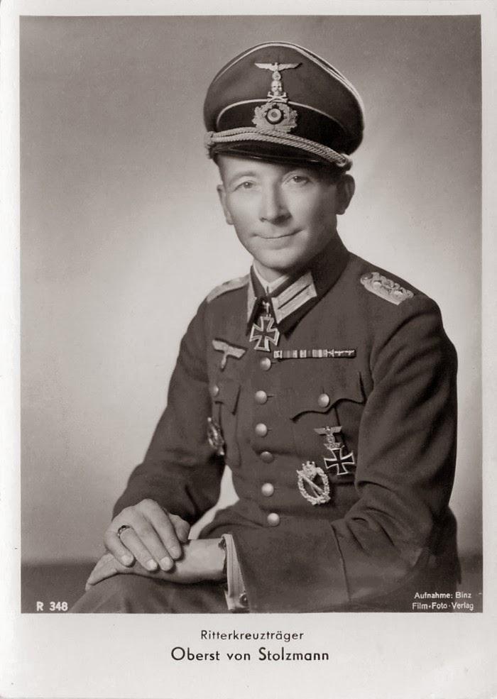 Joachim von Stolzmann Ritterkreuzträger Knight Cross Holder Postcard