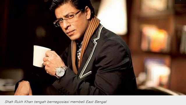 Cinta Sepak Bola, Shah Rukh Khan Tertarik Beli Klub ISL