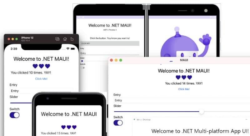 Visual Studio 2022 will have full support for .NET 6 and its unified framework for web, client, and mobile apps for both Windows and Mac developers