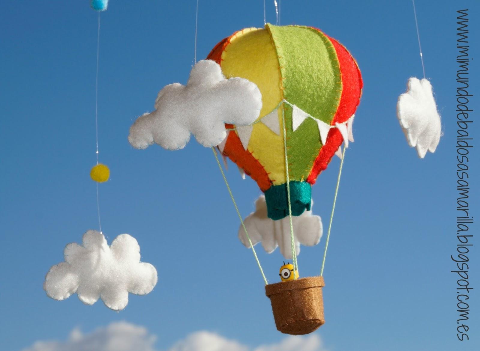 Mi mundo de baldosas amarillas un globo aerost tico para - Globos aerostaticos infantiles ...