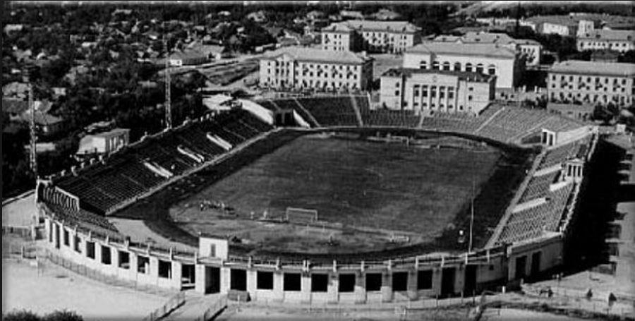 Stadionul echipei Venus București, perioada interbelică.