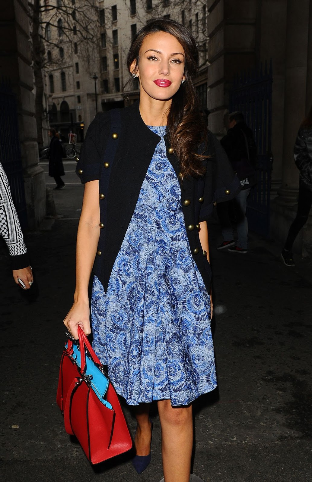 HD Photos of Michelle Keegan At Jean Pierre Braganza Fashion Show In London