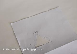 """Papier Schablone für das Stempeln von """"Für's Medaillon"""""""