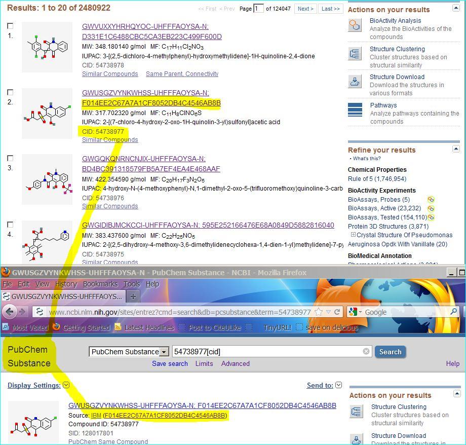 Suddenly, it's raining patent chemistry | Bio <-> Chem
