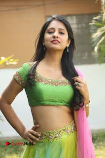 Actress Nikitha Bisht Stills in Lehenga Choli at Pochampally Ikat Art Mela Launch  0190.JPG