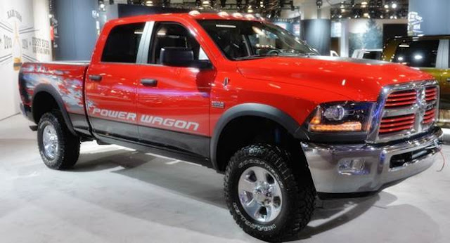 2016 Dodge RAM 2500 Power Wagon Redesign