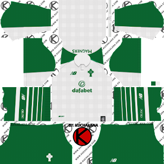 Celtic FC 2018/19 Kit - Dream League Soccer Kits