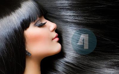 cara rambut hitam