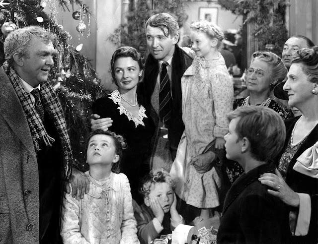 It's a Wonderful Life classic film scene - κλασική σκηνή από την Υπέροχη Ζωή