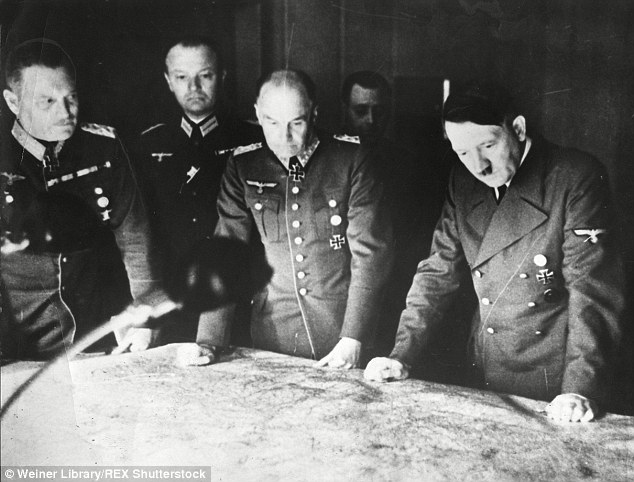 German field marshals worldwartwo.filminspector.com Keitel Hitler Halder map table
