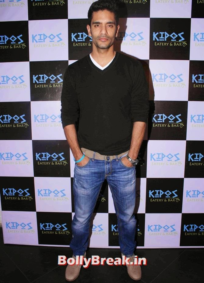Angad Bedi, Tv Celebs at a restaurant launch