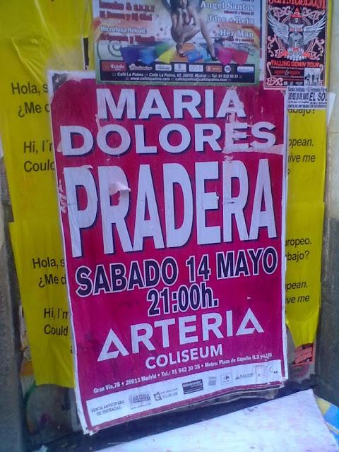 María Dolores Pradera en el Arteria Coliseum