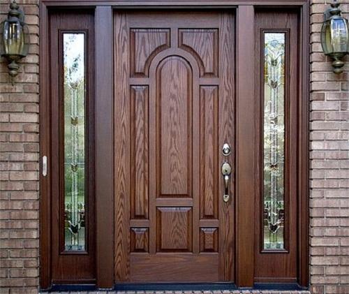 Modern 100 Wooden Front Door Designs Catalogue 2019 For