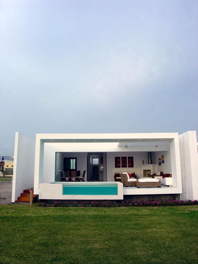 Casa detalles casa frente al mar - Casa de playa ...