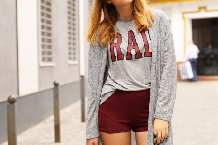 rad grey and burgundy