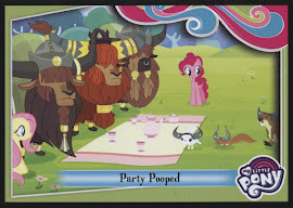 My Little Pony Party Pooped Series 4 Trading Card