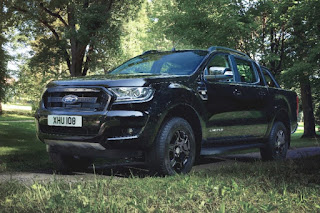 Ford Ranger Black Edition Double Cab (2017) Front Side