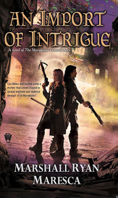 Bea's Book Nook, Review, An Import of Intrigue, Marshall Ryan Maresca