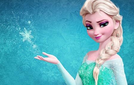 Elsa Frozen Barbie Doll Wallpaper