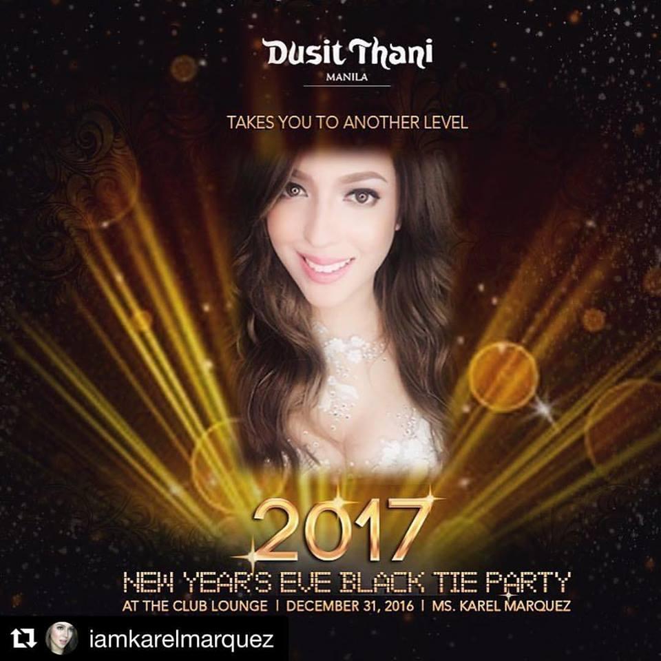 Dusit Thani Manila's New Year's Eve Black Tie Party