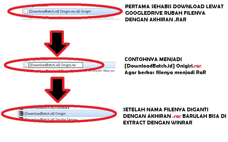 Cara Rubah File RaR