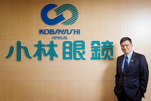 小林眼鏡總經理朱慶忠