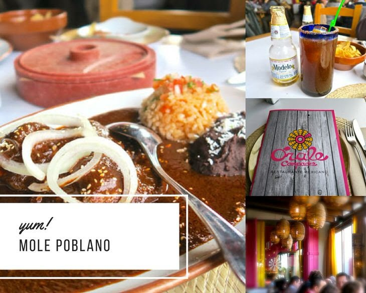 マドリードのメキシカンの料理と店内