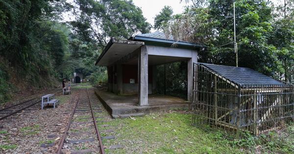 嘉義梅山梨園寮火車站,阿里山森林鐵路,海拔904公尺