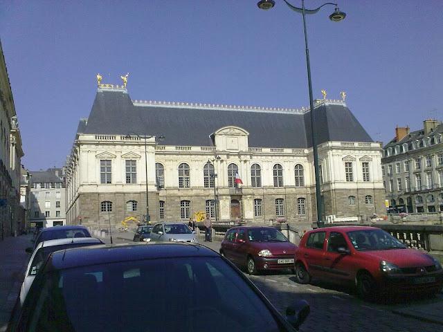 Palais du Parlement de Bretagne - Palácio do Parlamento da Bretanha - Rennes - França