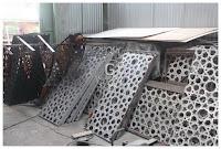 teralis masjid aluminium cor