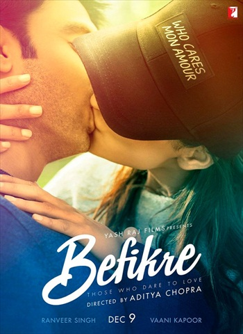 Befikre 2016 Hindi 720p DVDScr 999mb Download