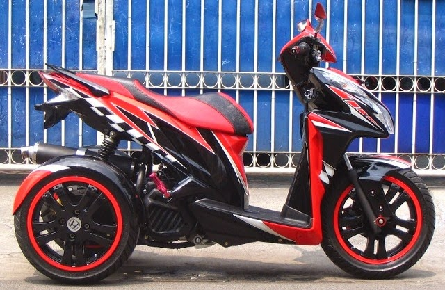 Трех колесный скутер
