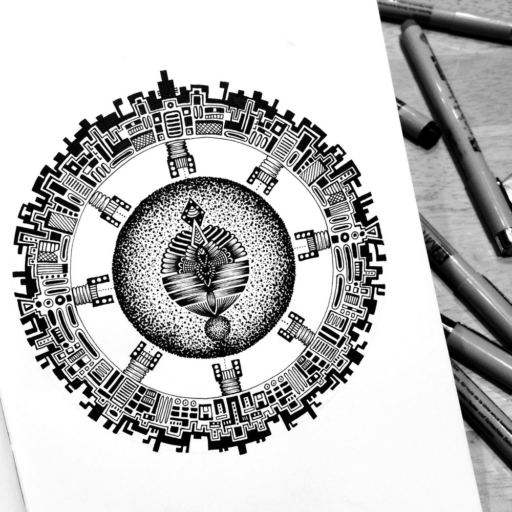 07-Orb-Pavneet-SembhiSelf-taught-Artist-Creates-Intricate-and-Detailed-Drawings-www-designstack-co