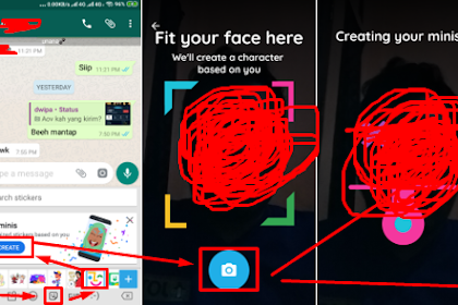 Cara Membuat Sticker Dengan Mudah Di Android Tanpa Harus Edit dan Install Aplikasi Pihak Ketiga