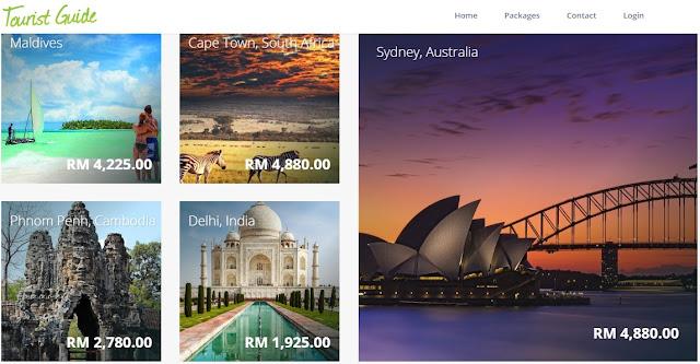 Pakej Kumpulan TouristGuide.com.my