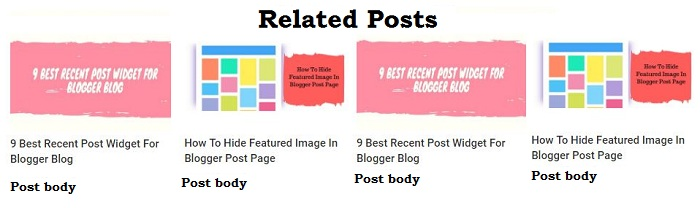3 Best Responsive Related Post Widget For Blogger