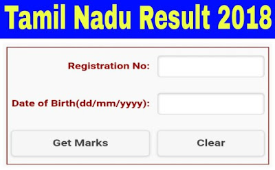 Tamil Nadu Board 10th,12th Result Deleared On 16/05/2018 ( tnresults.nic.in )