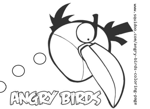 green angry bird coloring pages - free coloring pages of boomer