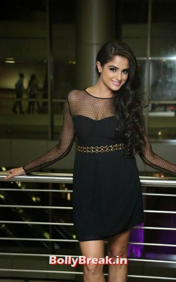 , Asmita Sood Hot HD Images in Black Transparent Dress